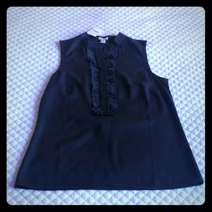 J. Crew sleeveless blouse size 0